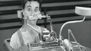 modern Times - Charlie Chaplin Eating Machine.wmv