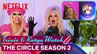 Drag Queens Trixie Mattel & Katya React to The Circle Season 2 | I Like to Watch | Netflix