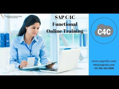 SAP C4C Functional Course Content Video