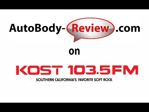 AutoBody-Review.com on KOST 103.5 FM Radio