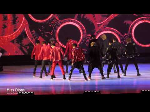 [fancam] 121130 : Mnet 2012 MAMA in HONGKONG - EXO Special Stage [MISS DIONS]