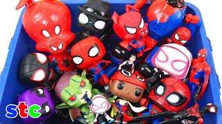 Caja Gigante de Juguetes de Spiderman un Nuevo Universo Coleccion de Juguetes