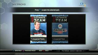 Madden 25 Ultimate Team | 14 Pack Legend Bundle Opening | Silver Tickets