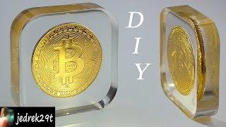DIY. Bitcoin in Resin/Bitcoin w żywicy