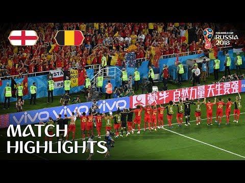 England v Belgium 0-1