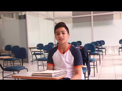 Joaquim Colaço, aluno do 8º ano
