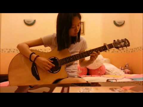 魏如昀 - 聽見下雨的聲音 (Ost. Rhytm of the rain) Fingerstyle guitar