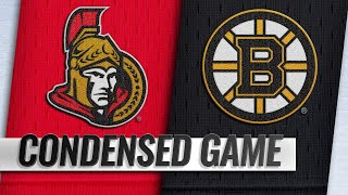03/09/19 Condensed Game: Senators @ Bruins