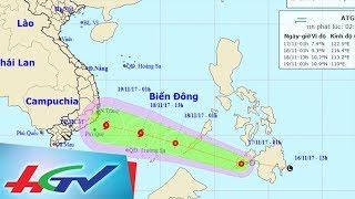 Áp thấp nhiệt đới có thể mạnh lên thành bão | ĐƯỜNG DÂY NÓNG ONLINE - 17/11/2017