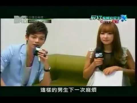 111102 f(x) Interview On MTV Taiwan