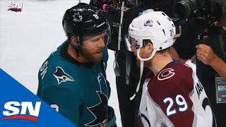 Sharks Shake Hands With Avalanche, En Route To Conference Finals