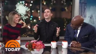 Adam Rippon And TODAY Anchors Share How They Spent The Holidays   TODAY