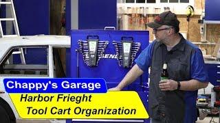 Harbor Freight Tool Cart Organization