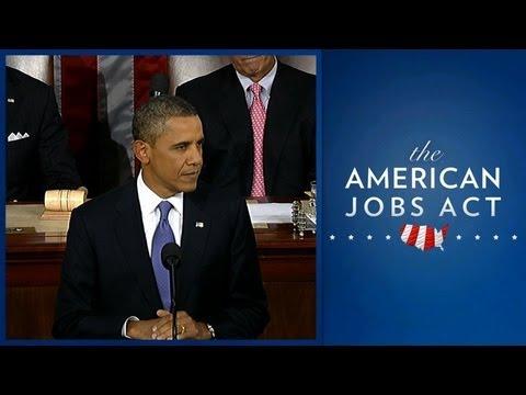 President Obama Presents American Jobs Act (Enhanced Version)