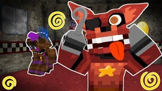 Foxy Breaks Down! Minecraft FNAF 6 Pizzeria Simulator!  (Minecraft Roleplay)