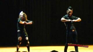 Kaytee Namgyal & Chiara Tobia ♥ Bachata Showdance ♥ Ist. Int.Dance Fest. 2011