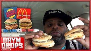 Big King vs Big Mac