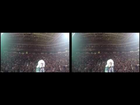 @DrBrianMay Selfie Stick Video |3D| San Jose, USA [June 29, 2017] Queen + Adam Lambert