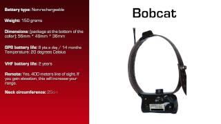 Watch video - GPS Collar for Bobcat