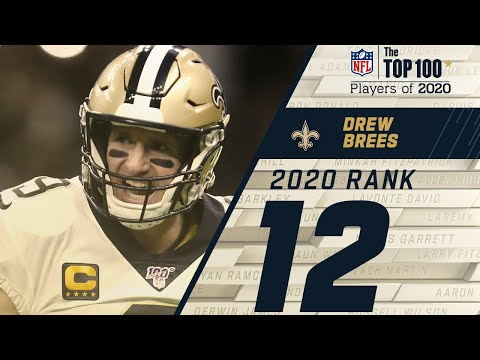 #12: Drew Brees (QB, Saints) | Top 100 NFL Players of 2020
