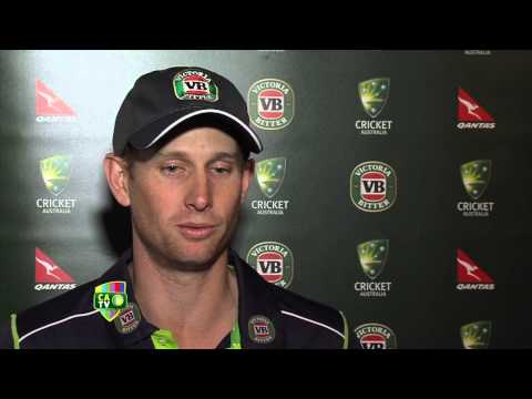 Adam Voges says Australia were 'outstanding' in run-chase against India in 3rd ODI