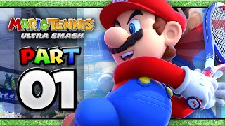 Mario Tennis: Ultra Smash - Part 01 | Classic Singles (4-player)