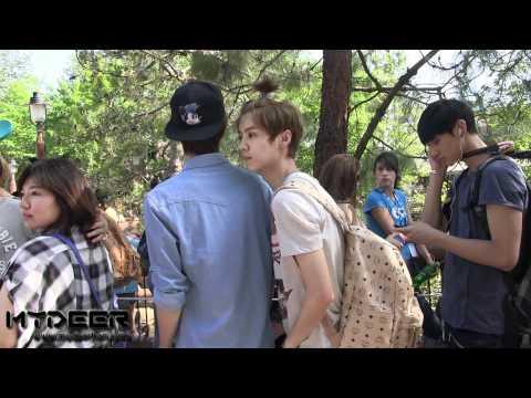 [HD][MYDEER Exclusive]120519 Disneyland in LA - Luhan focus