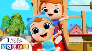 I Want To Be Like My Big Brother | Little Angel Kids Songs & Nursery Rhymes