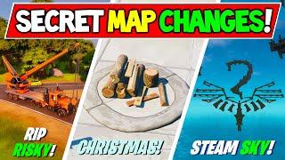 *NEW* Fortnite SECRET MAP CHANGES & Hidden Easter Eggs