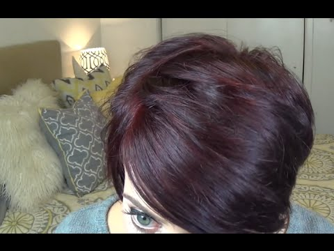 how to get rid of burgundy dye