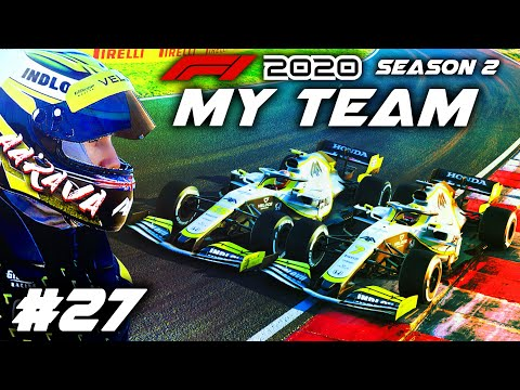 WE HAVE THE FASTEST CAR THIS RACE!!! INSANE PACE! - F1 2020 MY TEAM CAREER Part 27