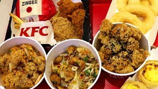 KFC Thailand Taste Test: Trying the Thai Food Menu at KFC in Thailand