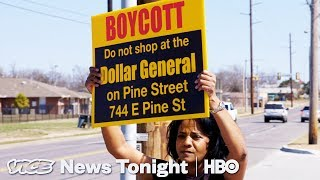 Dollar General Is Putting Local Grocery Stores Out Of Business (HBO)