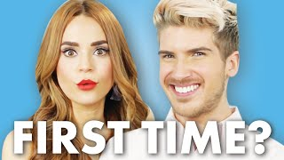 Joey Graceffa and Rosanna Pansino Discuss Their First Times