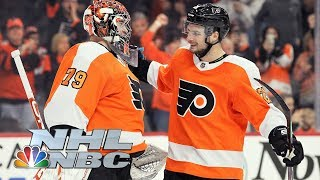 New Jersey Devils vs. Philadelphia Flyers | CONDENSED GAME | 10/10/19 | NBC Sports