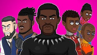 ♪ BLACK PANTHER THE MUSICAL - Animated Parody Song