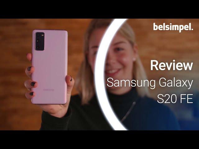 Belsimpel-productvideo voor de Samsung Galaxy S20 FE 4G 128GB G780 Groen