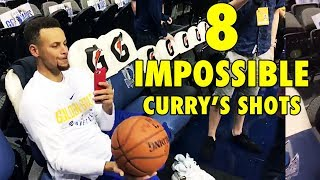 Can YOU do these 8 IMPOSSIBLE Stephen Curry's shots?