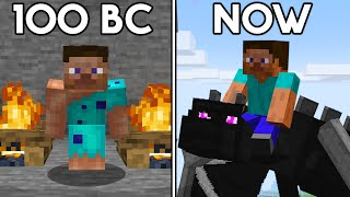 The Story of Minecraft Steve