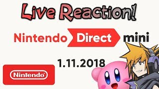 Nintendo Mini Direct - 1.11.2018 || LIVE REACTION with PlatinumRhythm & Cylika!