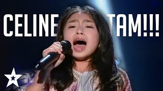 POWERFUL Performances By Celine Tam On Got Talent Around The World! | Got Talent