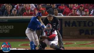 Cubs take the lead in the 5th from multiple Nationals errors - Game 5 NLDS 2017