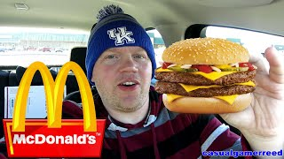 Reed Reviews McDonald's Double Quarter Pounder