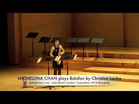 MICHELLINA CHAN plays Balafon by Christian Lauba