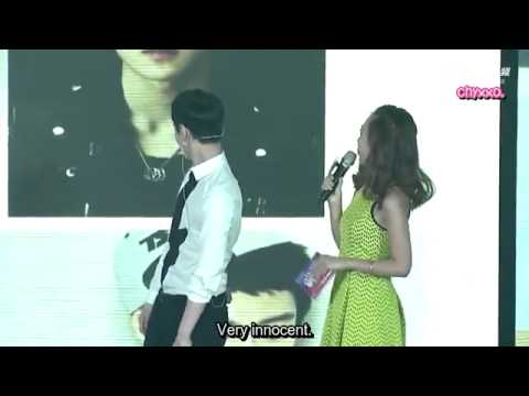 [ENG SUB] Sina Idol Hug Event - Yixing talking about EXO members.