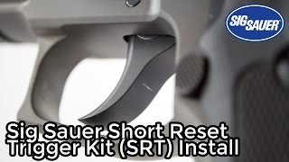 Sig Sauer P220, P226, P227, P229 Short Reset Trigger Kit Install