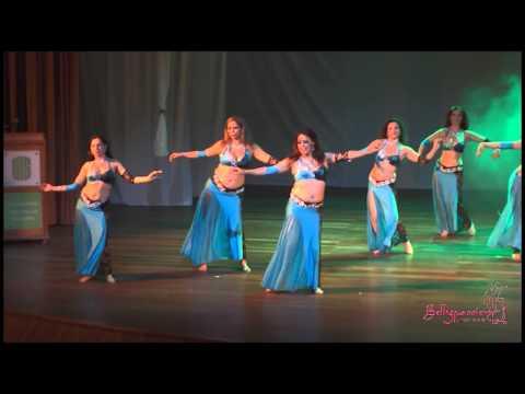 Danza Árabe Academia Bellypassion 2015