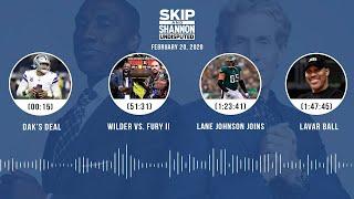 Dak's deal, Wilder vs. Fury II, Lane Johnson joins, LaVar Ball (2.20.20) | UNDISPUTED Audio Podcast