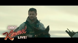 Chris Hemsworth's Trouble with a Horse