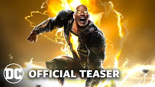 Black Adam - Official Teaser (2021) Dwayne Johnson | DC FanDome